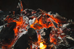 Barbecue coals Royalty Free Stock Image