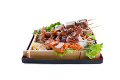 Barbecue collection Stock Images