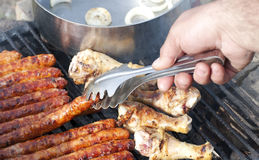 Barbecue concept Stock Images