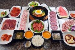 Barbecue coréen photographie stock libre de droits