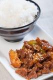 Barbecue coréen de boeuf image stock