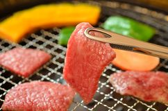Barbecue coréen Yakiniku images libres de droits
