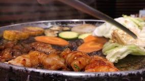 Barbecue coreano, Osaka archivi video