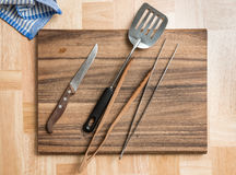 Barbecue Cutlery royalty free stock image