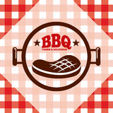 Barbecue délicieux illustration stock