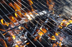 Barbecue de fragment Image libre de droits