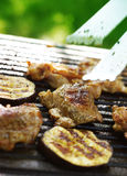 Barbecue de jardin Image libre de droits