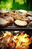 Barbecue de jardin Photographie stock