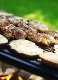 Barbecue de jardin Photos stock