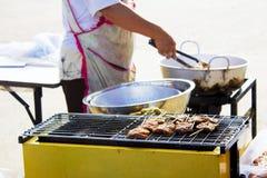 Barbecue de porc Image libre de droits