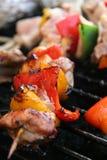 Barbecue de poulet Photos stock