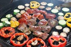 Barbecue de viande Photo libre de droits
