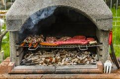Barbecue de viande Image stock