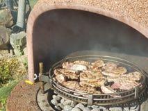 Barbecue del pollo Fotografie Stock Libere da Diritti