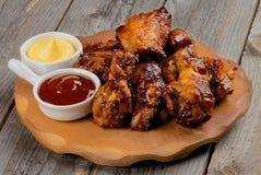 Barbecue del pollo Fotografie Stock