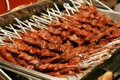 Barbecue del porco Fotografia Stock