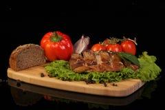 Barbecue della carne di maiale Immagine Stock Libera da Diritti