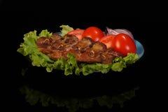 Barbecue della carne di maiale Fotografia Stock Libera da Diritti