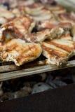 Barbecue della carne, DOF poco profondo Fotografia Stock
