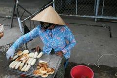 Barbecue delle banane Fotografia Stock Libera da Diritti