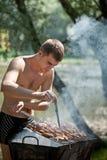 Barbecue di estate fotografia stock libera da diritti