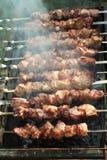 Barbecue di estate Fotografie Stock Libere da Diritti