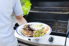 Barbecue di estate Immagine Stock