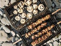 Barbecue di estate Fotografie Stock