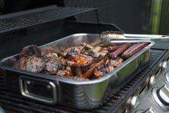 Barbecue di estate Immagini Stock Libere da Diritti