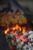 Barbecue di kebab Immagine Stock