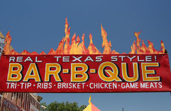 Barbecue di Texas-Stile Fotografia Stock