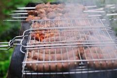 barbecue dym Zdjęcie Royalty Free