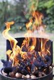 Barbecue fireplace Stock Photos