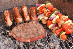 Barbecue food Stock Image