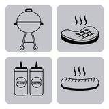 Barbecue food Royalty Free Stock Image