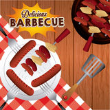 Barbecue food Royalty Free Stock Images