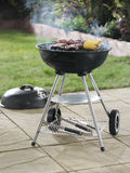 Barbecue in garden Stock Photos