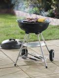 Barbecue in garden Stock Photos
