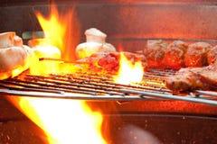 Barbecue in the garden - 6 Stock Photos