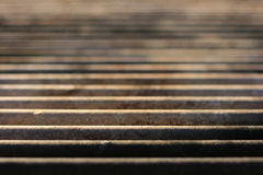 Barbecue Grill. Closeup with shallow depth of field Stock Photography