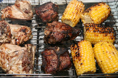 Barbecue grill Stock Image
