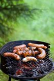 Barbecue grill. Stock Photos