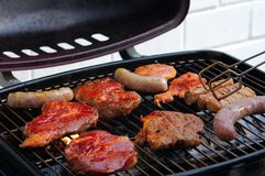 Barbecue Grill Royalty Free Stock Photography