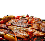 Barbecue on the grill Stock Photo