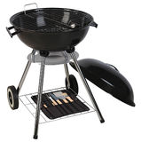 Barbecue grill. Clipping path Stock Photo