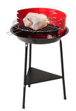 Barbecue grill. Clipping path Royalty Free Stock Images