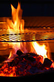 Barbecue Grill flame BBQ Stock Photography