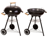 Free Barbecue Grill Isolated On White Royalty Free Stock Photos - 45757488