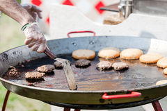 Barbecue on the grill Stock Photography