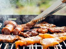 Barbecue Grill Meat Stock Photography